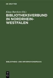 Bibliotheksverbund in Nordrhein-Westfalen