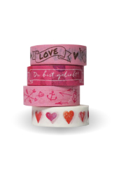 "Washi Tapes Set Rosa ""Du bist geliebt!"" Cover"