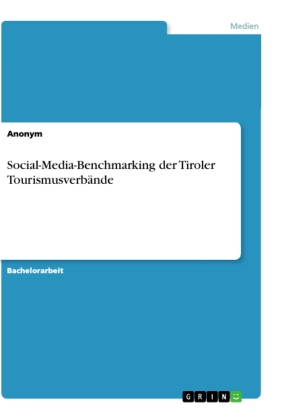 Social-Media-Benchmarking der Tiroler Tourismusverbände