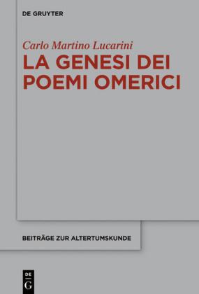 La genesi dei poemi omerici