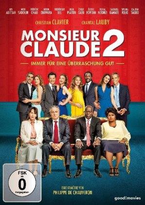 Monsieur Claude und seine Töchter 2, 1 DVD