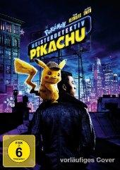 Pokémon Meisterdetektiv Pikachu, 1 DVD Cover