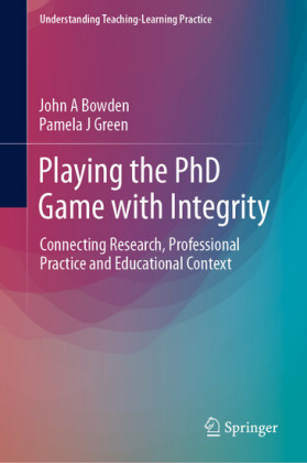 Playing the PhD Game with Integrity