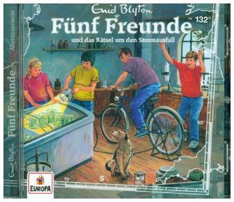 Fünf Freunde und das Rätsel um den Stromausfall, 1 Audio-CD