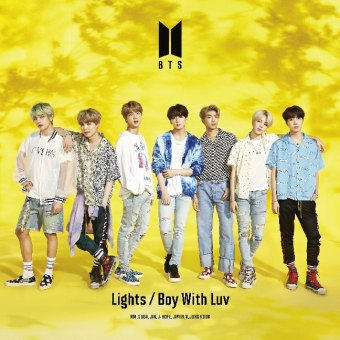 Lights / Boy With Luv, 1 Audio-CD + 1 DVD (Limited Edition)