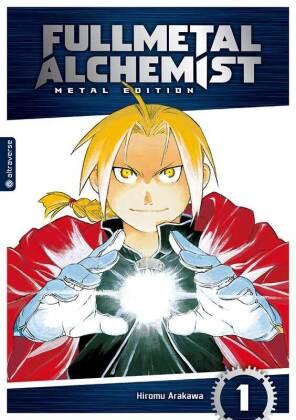 Arakawa, Hiromu: Fullmetal Alchemist, Metal Edition