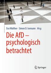 Die AfD - psychologisch betrachtet