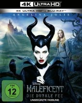 Maleficent - Die Dunkle Fee 4K, 1 UHD-Blu-ray