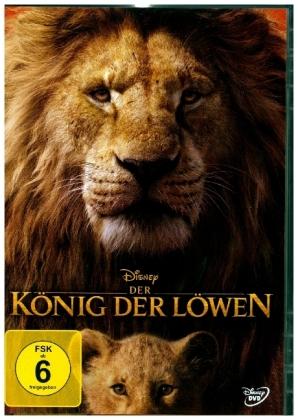 Der König der Löwen (2019), 1 DVD