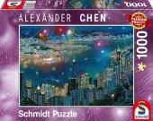 Feuerwerk über Hongkong (Puzzle)