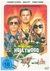 Once Upon a Time in... Hollywood, 1 DVD Cover