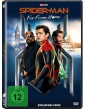 Spider-Man: Far From Home, 1 DVD Cover