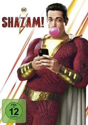 Shazam!, 1 DVD