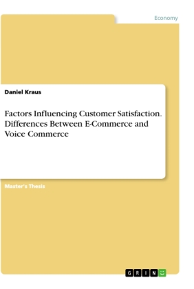 Factors Influencing Customer Satisfaction. Differences Between E-Commerce and Voice Commerce