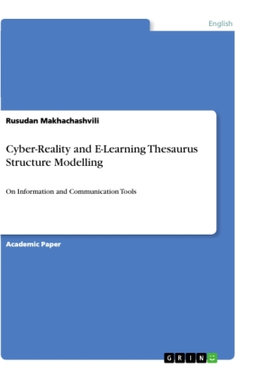Cyber-Reality and E-Learning Thesaurus Structure Modelling
