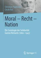 Moral - Recht - Nation
