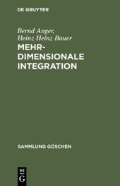 Mehrdimensionale Integration