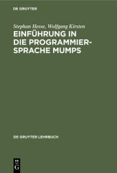 Einführung in die Programmiersprache MUMPS