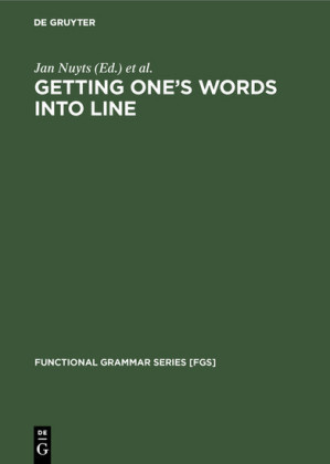 Getting One's Words into Line