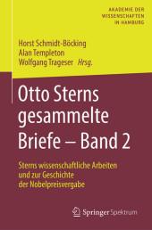 Otto Sterns gesammelte Briefe - Band 2