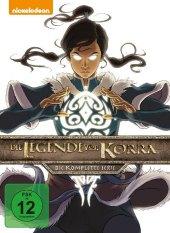 Die Legende von Korra - Gesamtbox, 8 DVD