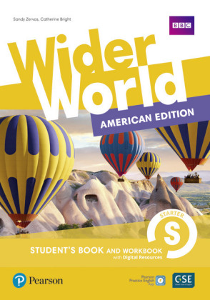 Wider World AmE 1 Student Book & Workbook with PEP Pack, m. 1 Beilage, m. 1 Online-Zugang