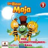 Die Biene Maja (CGI) - Der Schmetterlingsball, 1 Audio-CD Cover
