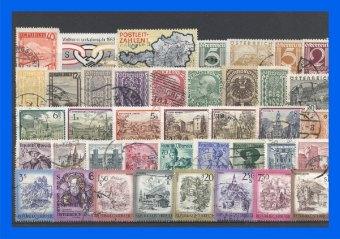100 verschiedene Briefmarken Österreich