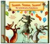 Summ, Summ, Summ-Partylieder, 1 Audio-CD Cover