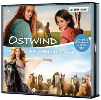 Ostwind Die Filmhörspiele 3 + 4, 4 Audio-CD
