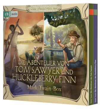 Die Abenteuer von Tom Sawyer und Huckleberry Finn, 6 Audio-CD