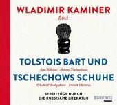 Tolstois Bart und Tschechows Schuhe, 4 Audio-CD Cover