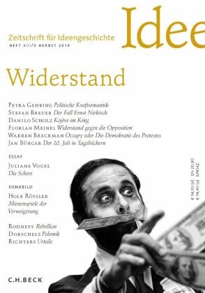 Zeitschrift für Ideengeschichte Heft XIII/3 Herbst 2019