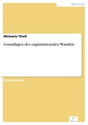 Grundlagen des organisationalen Wandels