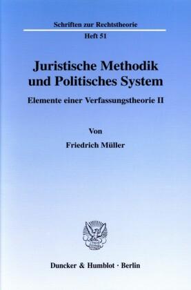 Juristische Methodik und Politisches System.