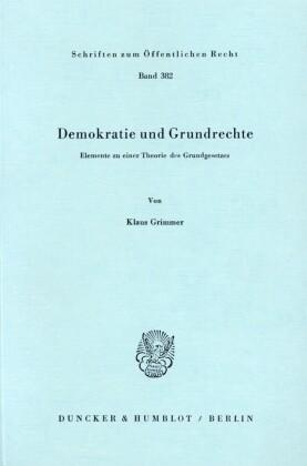 Demokratie und Grundrechte.