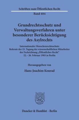 Grundrechtsschutz und Verwaltungsverfahren