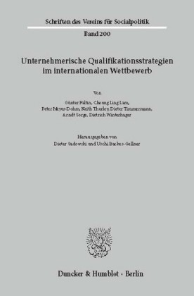 Unternehmerische Qualifikationsstrategien im internationalen Wettbewerb.