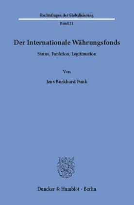 Der Internationale Währungsfonds.