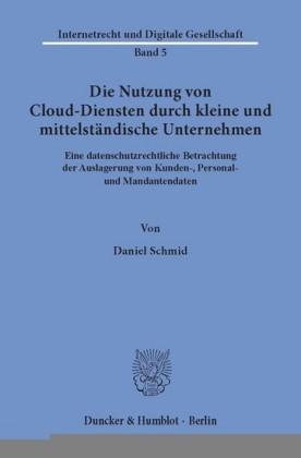 Die Nutzung von Cloud-Diensten durch kleine und mittelständische Unternehmen.