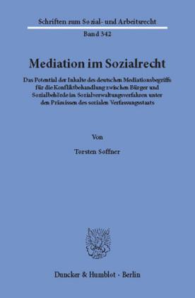 Mediation im Sozialrecht.