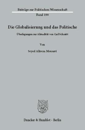 Die Globalisierung und das Politische.