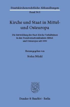 Kirche und Staat in Mittel- und Osteuropa.