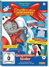 Benjamin Blümchen - Gespensterkinder, 1 DVD + 1 Audio-CD