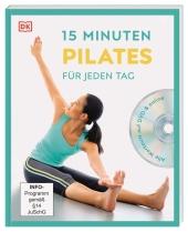 15 Minuten Pilates für jeden Tag, m. DVD Cover