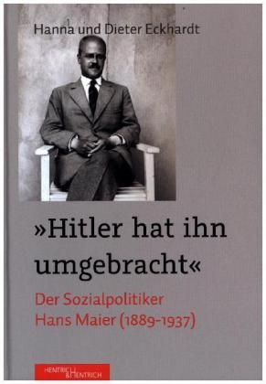 """""""Hitler hat ihn umgebracht"""""""