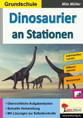 Dinosaurier an Stationen / Grundschule