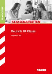 Klassenarbeiten Realschule - Deutsch 10. Klasse Cover
