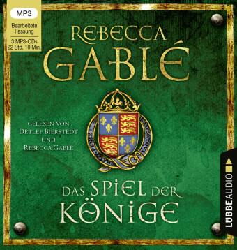 Das Spiel der Könige, 3 Audio-CD, MP3