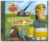 Feuerwehrmann Sam - Tierische Rettung - Das Hörspiel, 1 Audio-CD Cover